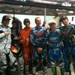 All the riders!