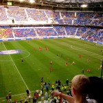 1st Soccer game at the Red Bull Arena