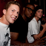 Out in NYC with Reggie Bush and Sheckler.