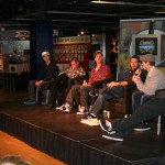 The Panel (Lance Coury, Brian Deegan, Ronnie Faisst, Toby Bost, Nate Adams, and Jeff Kargola. Questioned by Ryan Hagy)